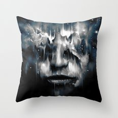 Blind Fate Throw Pillow