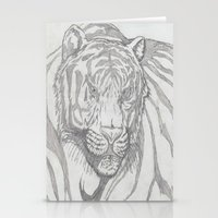 large tiger Stationery Cards