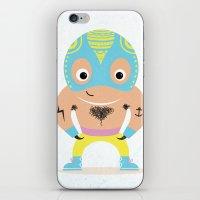 Lucha libre iPhone & iPod Skin