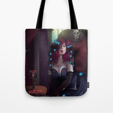 Vampire Lady Tote Bag