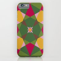 Shades of flowers iPhone 6 Slim Case