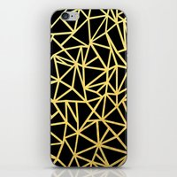 Abstract Outline Thick G… iPhone & iPod Skin