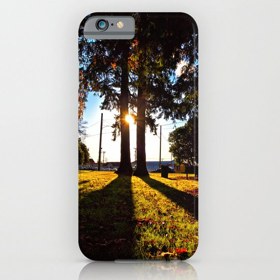 Autumn afternoon iPhone & iPod Case