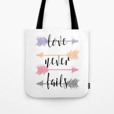 His Love  Tote Bag