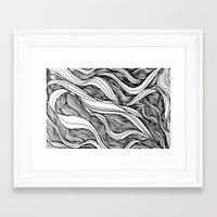 Deep Sea Framed Art Print