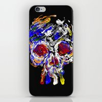 Skully Mix iPhone & iPod Skin