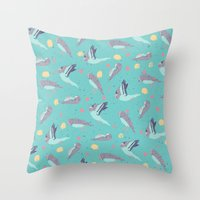 Take Flight Design Throw Pillow
