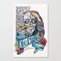 Día De Muertos ANALOG Z… Canvas Print