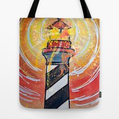 Lighthouse Funk 1 Tote Bag