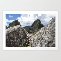 Mini Machu Picchu Peru  Art Print
