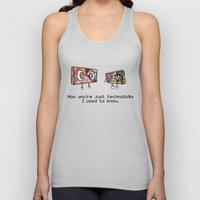 Technology I Used To Know Unisex Tank Top