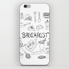 Breakfast iPhone & iPod Skin