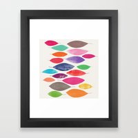 Float 2 Sq  Framed Art Print