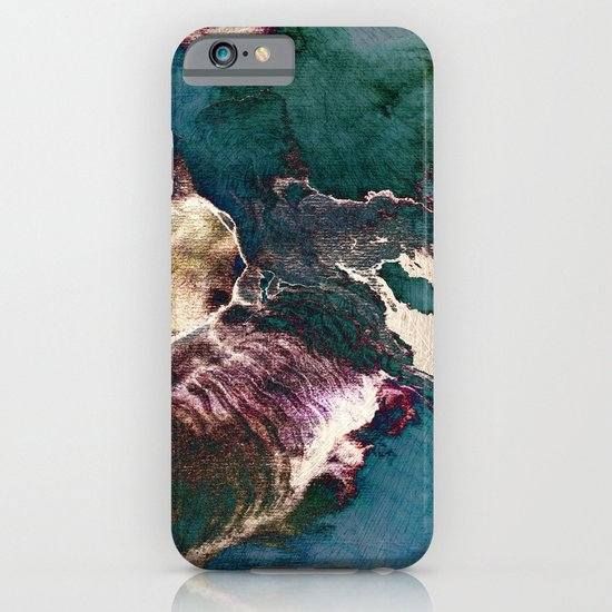 surreal map iPhone & iPod Case