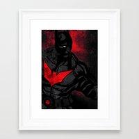 Beyond The Dark Framed Art Print