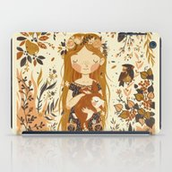 iPad Case featuring The Queen Of Pentacles by Teagan White