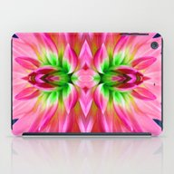 Abstract Flower iPad Case