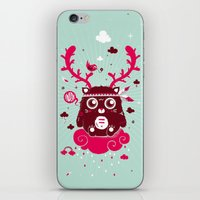 Hugh! iPhone & iPod Skin