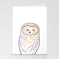 The Owl. Owl Art, Owls, … Stationery Cards