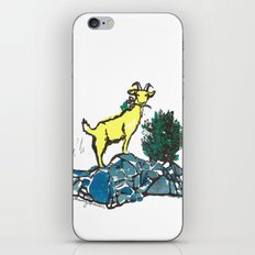 Goatie McGoatersons (colored version) iPhone & iPod Skin