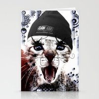 CRAZY CAT Stationery Cards