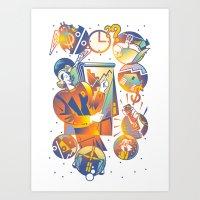 Information  Art Print