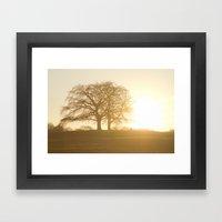 The light within us Framed Art Print