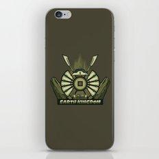 Avatar Nations Series - Earth Kingdom iPhone & iPod Skin