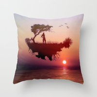 LANDSCAPE - Solitary Sis… Throw Pillow
