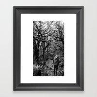Trekking @ Routeburn Tra… Framed Art Print