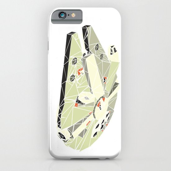 The Millennium Falcon iPhone & iPod Case