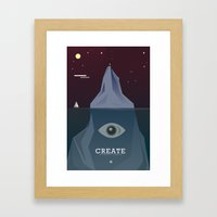 Create Without Limits Framed Art Print