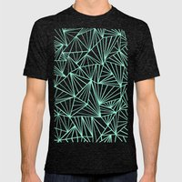 Ab Fan Mint Mens Fitted Tee Tri-Black SMALL