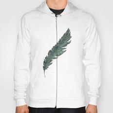 CRAYON LOVE: Aqua Feather Hoody