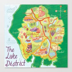 The Lake District Canvas Print