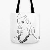 Demoiselle Tote Bag
