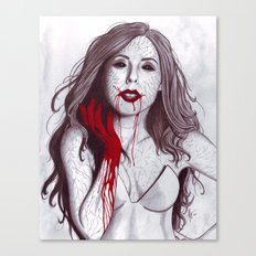 Love like Blood Canvas Print