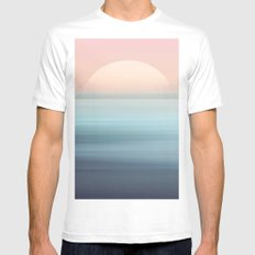 You Are Free White MEDIUM Mens Fitted Tee