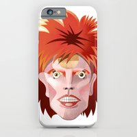 iPhone & iPod Case featuring Starman by Pizza! Pizza! Pizza!