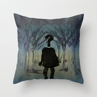 Into the wild. Question series  Throw Pillow