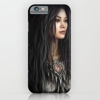 iPhone & iPod Case featuring Armored Heart by Justin Gedak