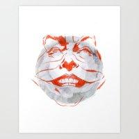 Jacky The Joker Art Print