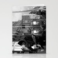 Waiting.. [Black & White] Stationery Cards