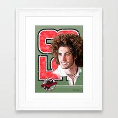 Marco Simoncelli Framed Art Print