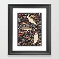 Oceanica Framed Art Print