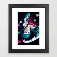 Bloom to fall apart Nr.1 Framed Art Print