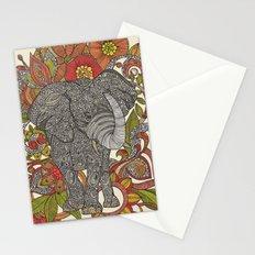 Bo the elephant Stationery Cards