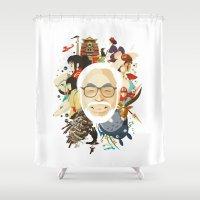 Miyazaki-San Shower Curtain