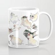 Pugs On The Run! Mug