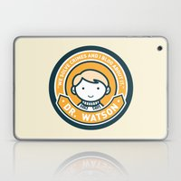 Cute John Watson - Orange Laptop & iPad Skin